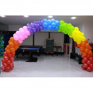 Rainbow Colour Alternate Arch
