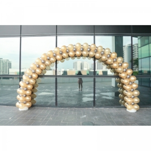 Linking Arch in Gold and Silver