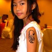 Air brush tattoo